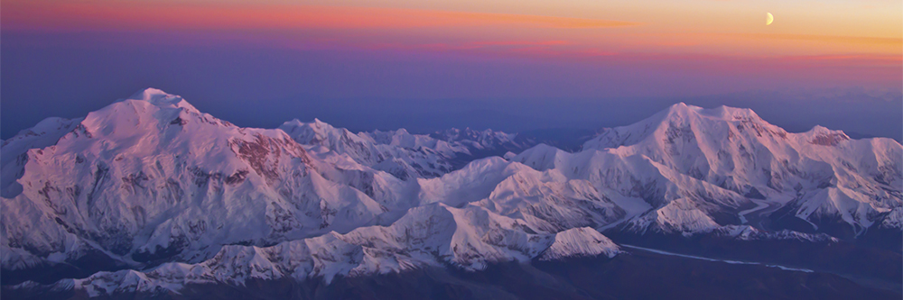 Sunset Above Denali
